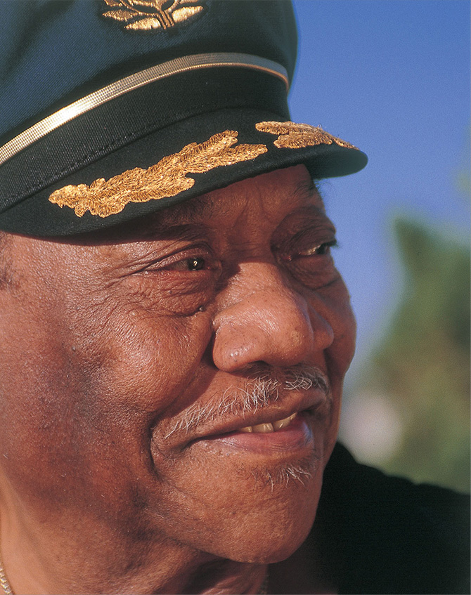 Intimate portrait of Bobby Bland
