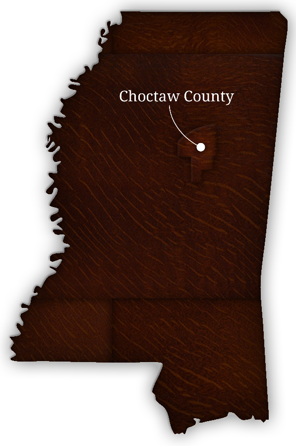 Choctaw County, Mississippi. The Birthplace of the Blackwood Brothers