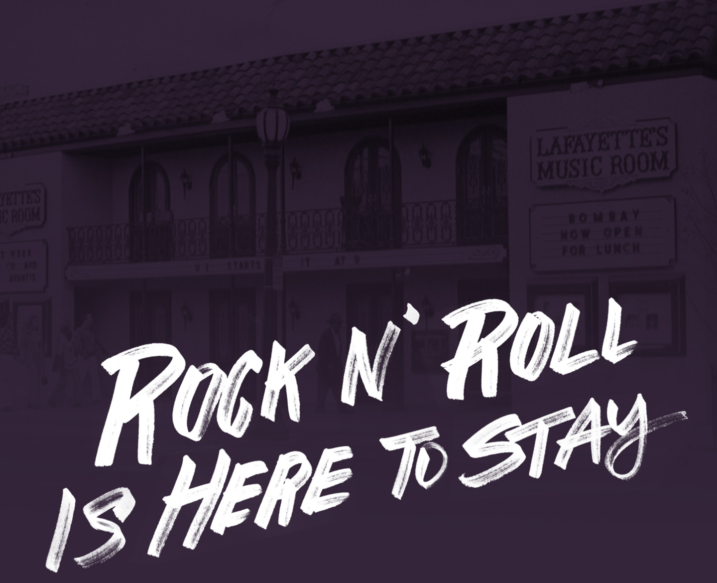 Rock 'n' roll is here to stay