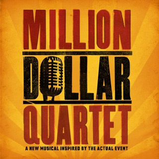 Million Dollar Quartet musical album art