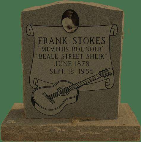 Frank Stokes - Tombstone