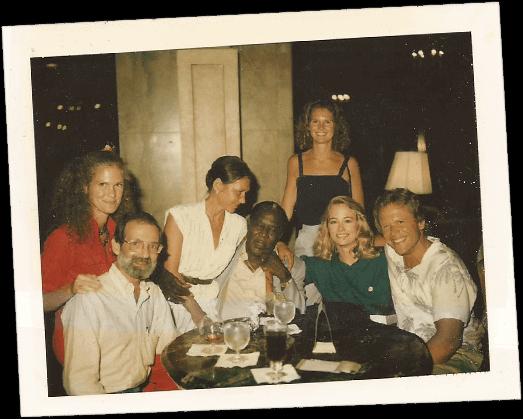 Irvin Salky - at dinner
