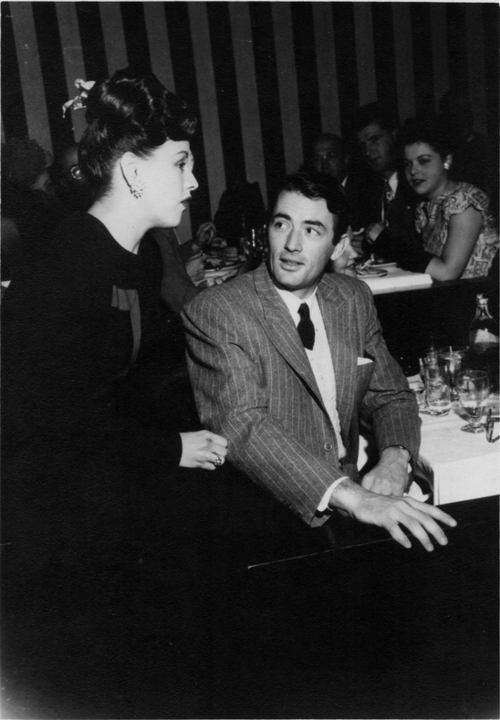 Kay and Gregory Peck