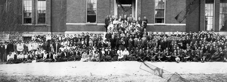 Lil's Schoolmates at Fisk University, 1915-1916