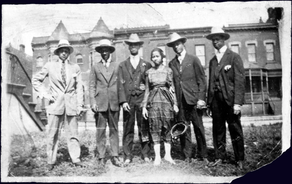 Lil and Jimmie's Wedding - August 22, 1922