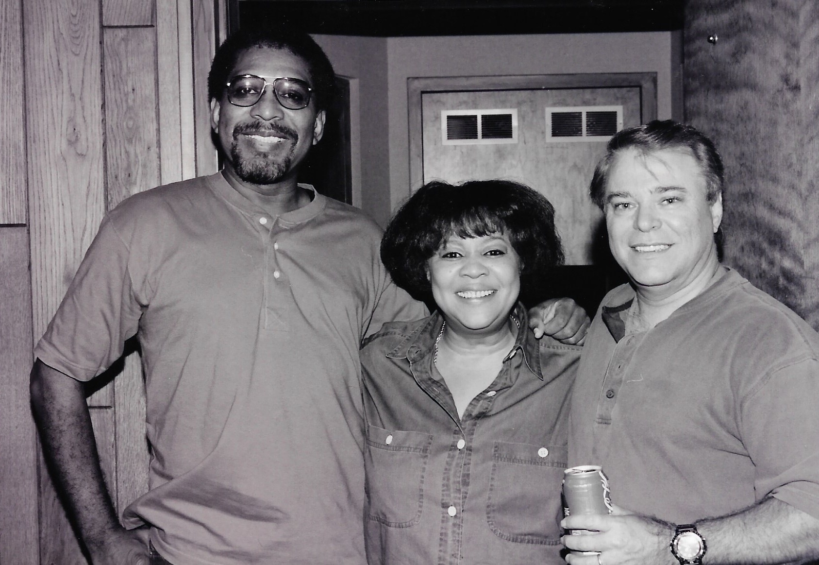 Wayne Jackson with RMavis Staples