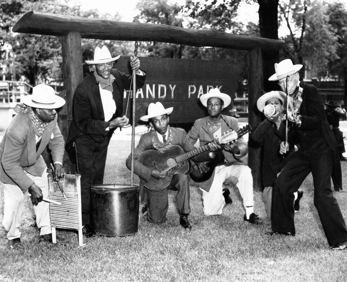Memphis Jug Band Hardy Park