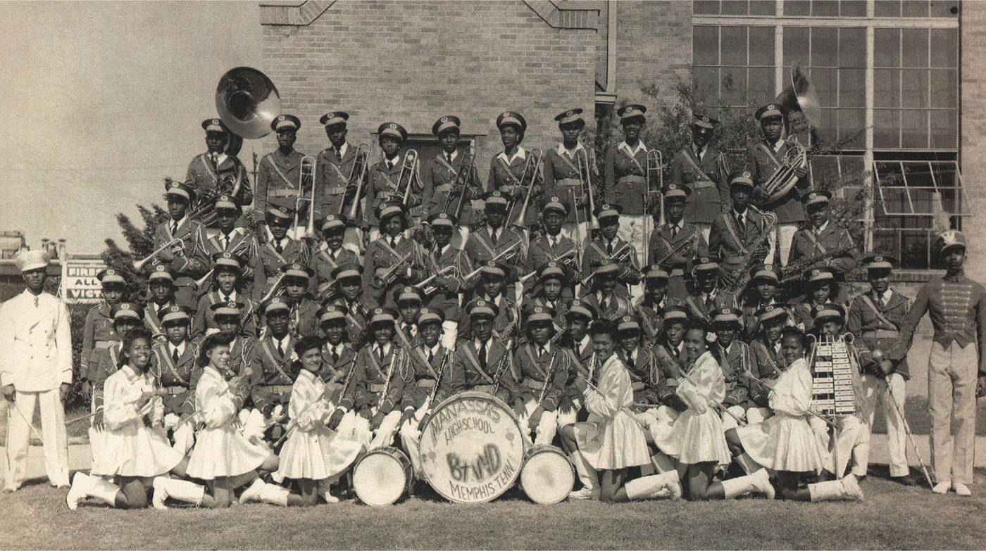 Manassas high school band photo