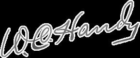 W.C. Handy's signature