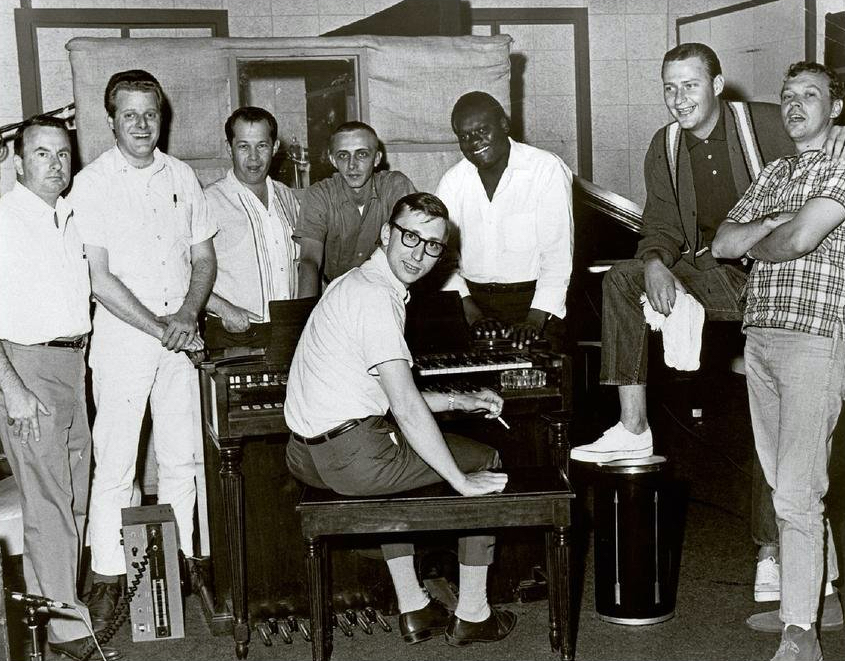 The Memphis Boys, black and white