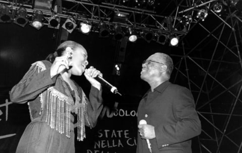 Don and Ann Peebles perform together