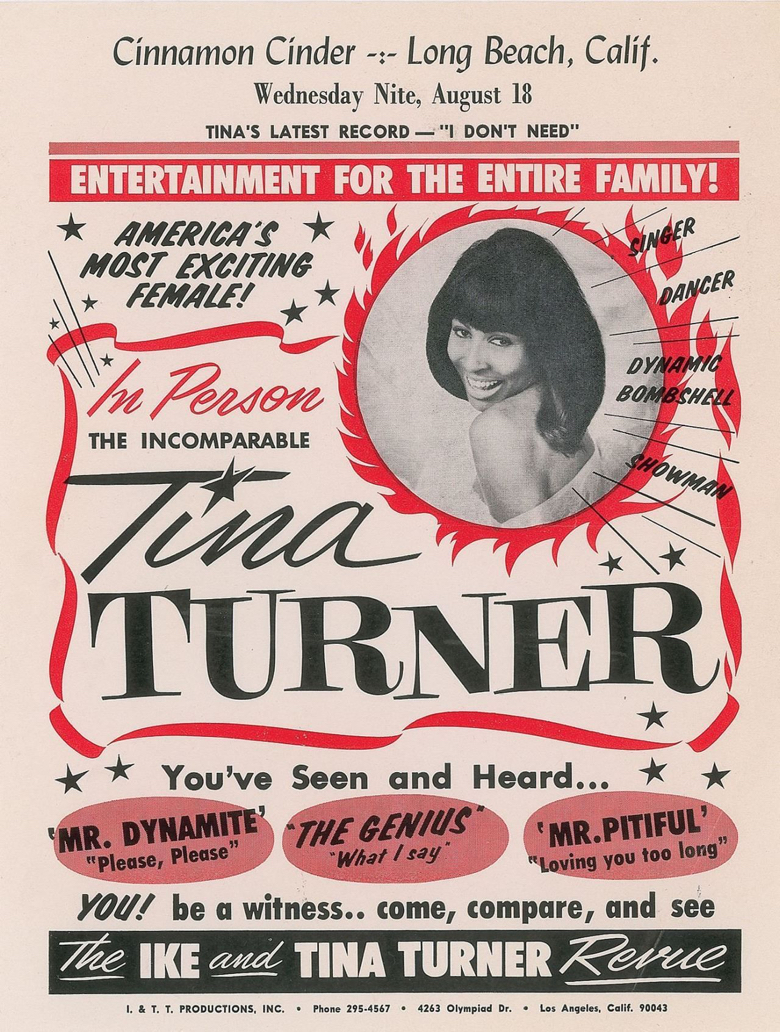 Ike and Tina Turner Revue Poster