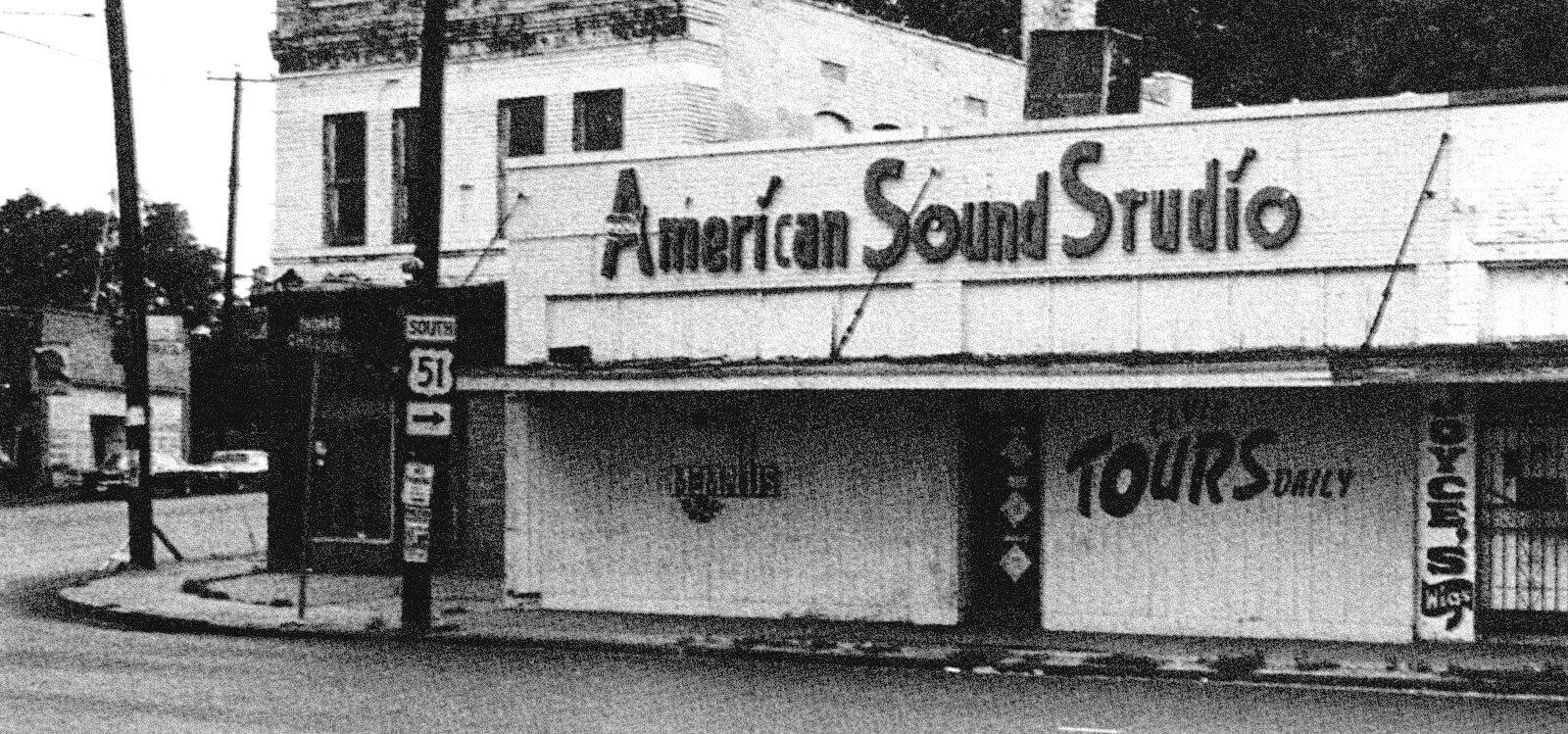 American Sound Studio building, exterior