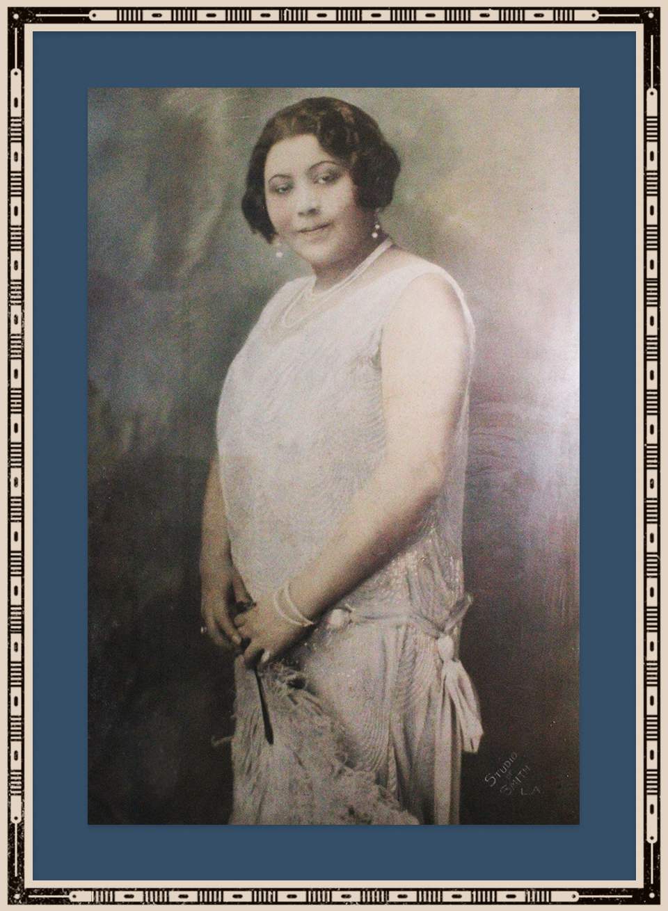 Portrait of Florence Cole