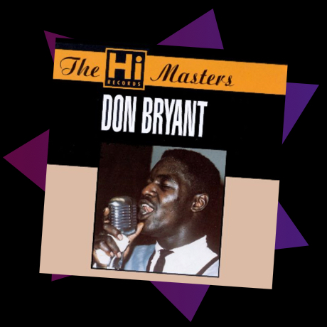 Album cover for Don Bryants The Hi Records Measters