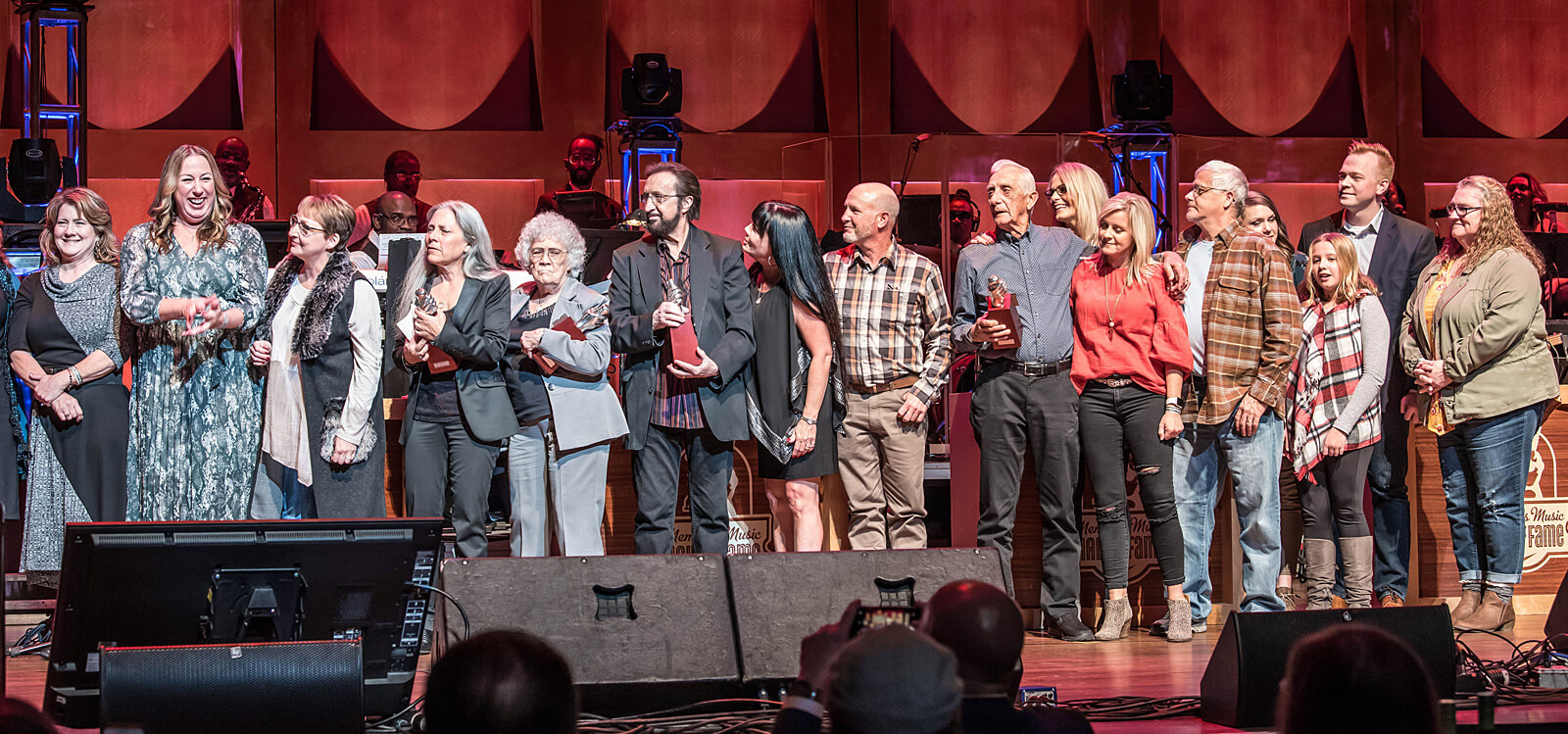 The Memphis Boys at Memphis Music Hall of Fame induction ceremony